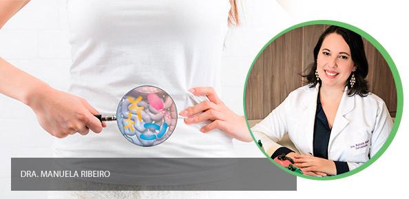 Bactérias intestinais e a saúde do corpo e do cérebro.